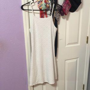 Derek Heart White Dress